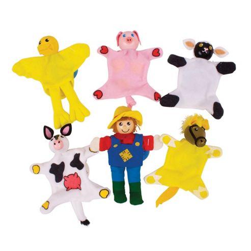 Bigjigs Toys Farm Finger Puppets