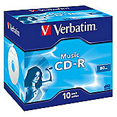Verbatim CD-R 700Mb 16X 80 Min 10 Pack
