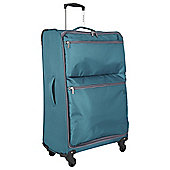 Revelation by Antler Skye 4-Wheel Suitcase, Teal Large