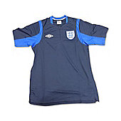 2012-13 England Umbro WC Polo Shirt (Navy) - Navy