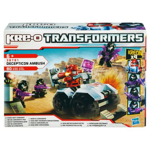 Kre-O Transformers Decepticon Ambush