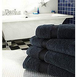Supreme Egyptian Cotton Towel Black Face Cloth