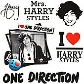 One Direction Temporary Tattoos - Harry