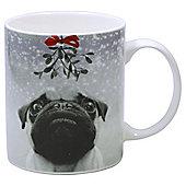 Pug Christmas Mug