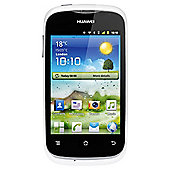 Tesco Mobile Huawei Ascend Y201 White