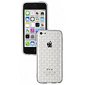 iPhone 5c Quilted TPU Clear