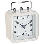Tesco Cream Square Alarm Clock