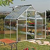 Palram Mythos 6' x 4' Greenhouse, Silver