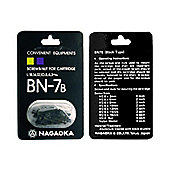 Nagaoka BN-7B Cartridge Mounting Screws Black
