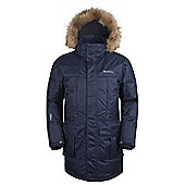 Mountain Warehouse Antarctic Extreme Mens Down Jacket - Blue