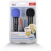 SPEEDLINK Starlet Microphone Set for Nintendo Wii, Black SL-3471-BK-01