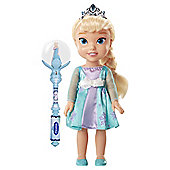 Disney Frozen Toddler Elsa With Musical Snow Wand