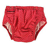 Konfidence Swim Nappy Pink Polka Dots