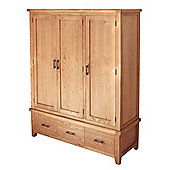 Furniture Link Hampshire 3 Door Wardrobe