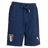 2014-15 Italy Puma Bermuda Shorts (Navy) - Navy
