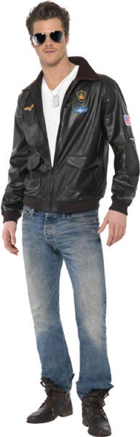 Top Gun Bomber - Adult Costume Size: 42-44