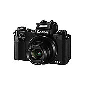 Canon PowerShot G5 X 20.2 MP Compact Digital Camera Black