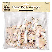 Pipsy Koala Foam Bath Animals In Bath Toy Tidy Bag