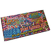 Loom Twister Bands Fun Loom Kit - 900 Bands, 12 S-Clips, 6 Charms