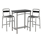 Premier Housewares Bar Table Set