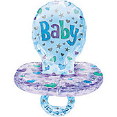 59' Boy Baby Pacifier Multi Balloon (each)