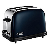 Russell Hobbs 18958 Blue Stainless Steel 2 Slice Toaster