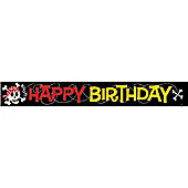 Pirate Party Foil Banner - 12ft (each)