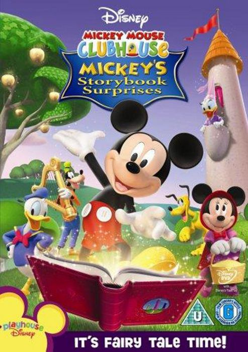 Mickey Mouse Clubhouse - Storybook Surprises (DVD)