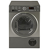 Hotpoint Ultima S-Line Tumble Dryer, SUTCD97B6GM, 9KG Load, Graphite