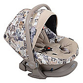 Bebecar Urban Denim Easy Maxi ELs Car Seat (Brown Patchwork)