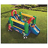 Little Tikes Double Jump 'n Slide Bouncy Castle