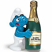 Schleich Birthday Smurfs Bottle Smurf