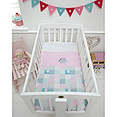 Baroo Crib Coverlet (Tweet Dreams)