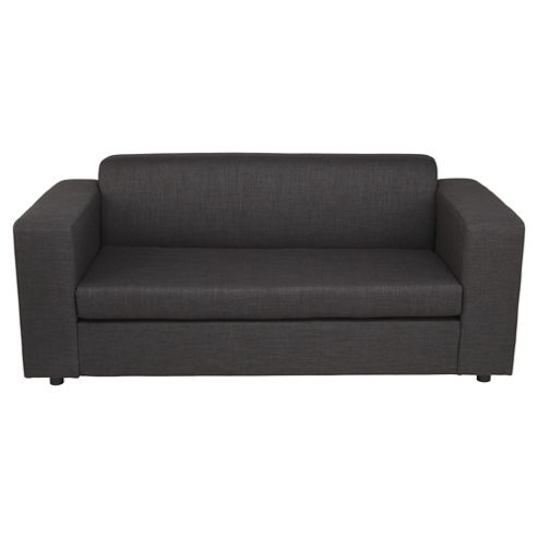 Stanza Fabric Sofa Bed Charcoal