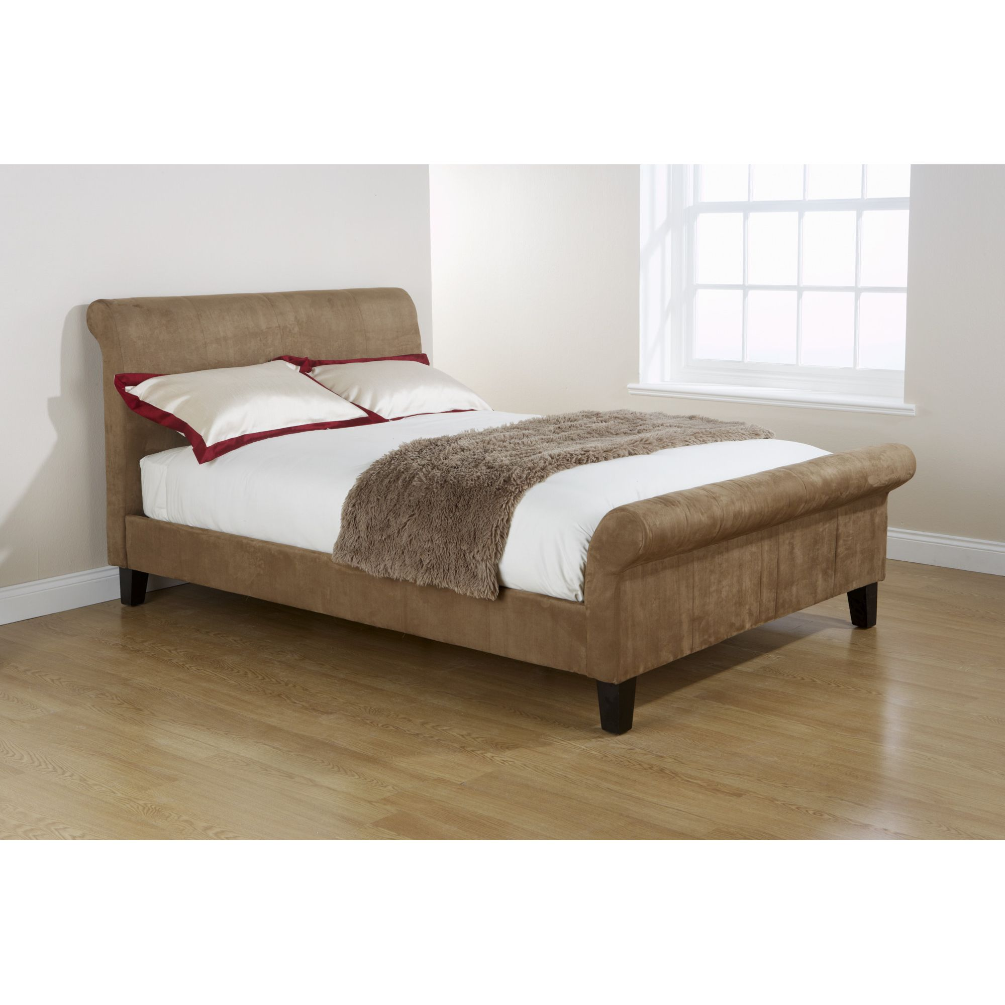 Elements Amalfi Microfibre Bed - Double at Tesco Direct
