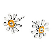 Children's D for Diamond Daisy Stud Earrings