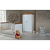 OBaby Winnie the Pooh Cot Bed/Drawer/Double Wardrobe