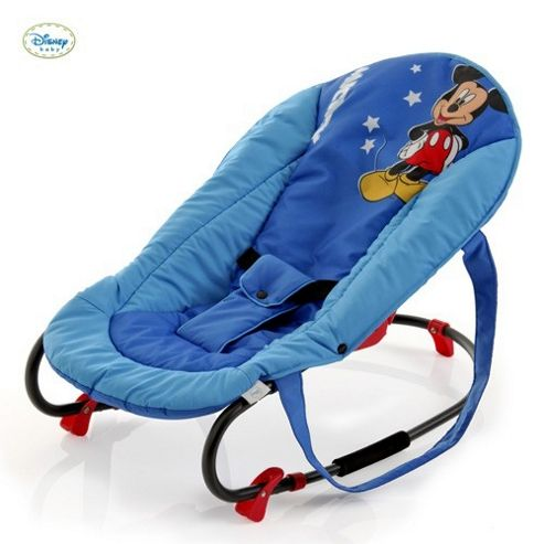 Hauck Rocky Deluxe Bouncer (Mickey Blue)