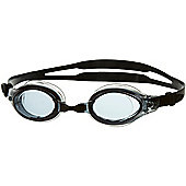 Speedo Mariner SpeedFit Adult Swimming Goggles - Black