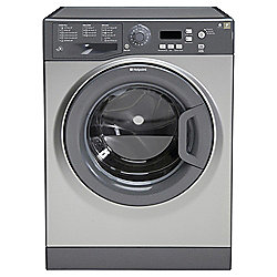 Hotpoint WMXTF842G Extra, Freestanding Washing Machine, 8Kg Wash Load, 1400 RPM Spin, A++ Energy Rating, Graphite