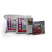 New York 13.5 Tog University Bedding Bundle - Double
