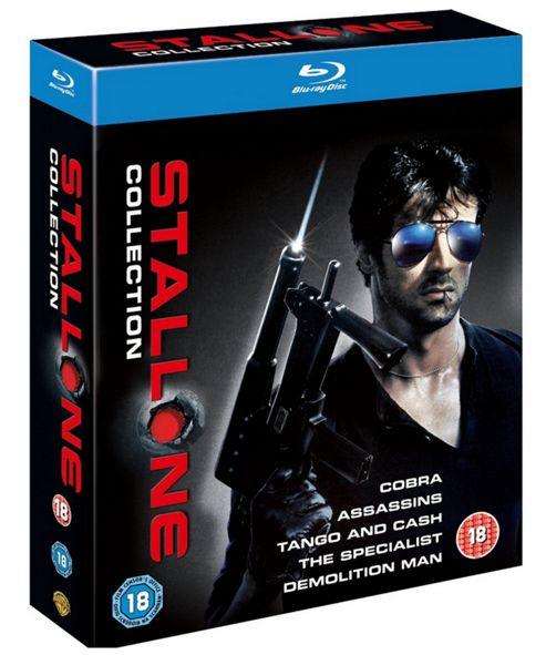 Sylvester Stallone Collection (5 Discs) Bd