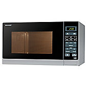 Sharp R372WM Solo Microwave Compact,25L - White