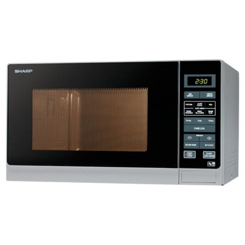 Sharp R372WM 25L Compact Solo Microwave, White
