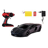 1:10 Black Lamborghini with Black Window Screen