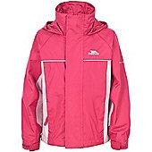 Trespass Girls Sooki Waterproof Jacket - Pink
