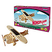 Solar Monoplane Wooden Craft Kit