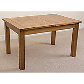 Cotswold Rustic Solid Oak 132 cm Extending Dining Table