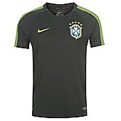 2014-15 Brazil Nike Training Shirt (Black) - Kids - Black