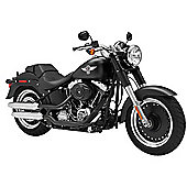 Tamiya Harley Davidson Fat Boy Lo 16041 1:6 Bike Model Kit
